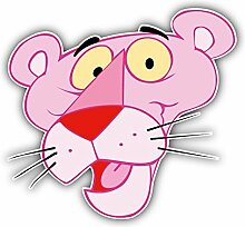 Pink Panther Face Kids Disney - Self-Adhesive