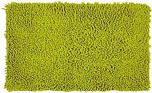 Pink Papaya Stilvolles Chenille Badvorleger Set – Shaggy Style – Handgearbeitet | 50 x 80 cm | APFELGRÜN | 100 % saugstarke Baumwolle | schwere 1600 g/m² | Badteppich | Badvorleger | Badematte von Pink Papaya Products
