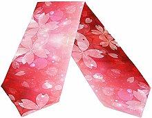 Pink Sakura Petal Tischläufer, Tischdecke Läufer