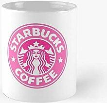 Pink Starbucks Classic Mug Best Gift Funny Coffee