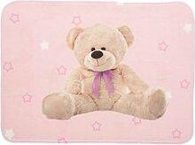 Pink Teddy leicht matte 70x 95cm Soft Kinderzimmer-Teppich