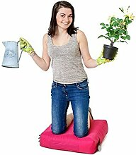 Pink Wasserabweisende Outdoor Gadren Workshop DIY kniend Pad Sitzsack mit Griff und Taschen