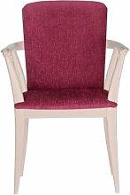 Pink Winsor Stuhl burgunderfarben
