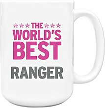 Pink Worlds Best Ranger Big 444ml Becher 321
