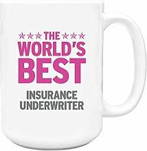 Pink Worlds Best Versicherungen underwriter Big 444ml Becher 179