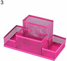 pink888 Bürobedarf Aufbewahrungsbox für Stifte
