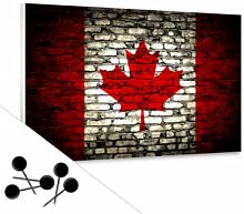 Pinnwände - Memoboard Maple Leaf Flagge