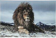 Pinnwand aus Glas Proud Lion 120x 180cm Kare