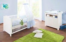 Pinolino Babybett Sparset Nina 2-teilig
