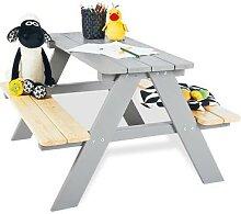Pinolino Kinder-Picknicktisch mit Bänken Nicki
