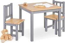 Pinolino® Kindersitzgruppe Fenna, grau/natur,