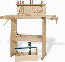 Pinolino Werkbank Walter aus Holz