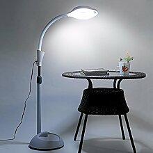 PinWei_ Tattoo Schönheit Stehleuchte Augenbraue Schatten vertikale LED Lampe Stehleuchte,38 w