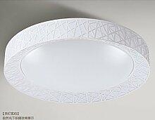 PinWei@ Vogelnest Decke Lampe, LED-Deckenleuchte, Runde Deckenleuchte Acryl Deckenleuchte,Weiß 45cm