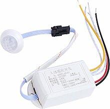 Pinzhi IR Infrarot Modul Sensor Schalter Körper Bewegung Auto Indoor / Outdoor Ein / Aus Lich