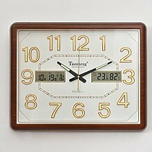 PIO Luminous Clock Modern Nicht-ticking Silent