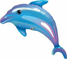 Pioneer Luftballon, Delfin, Meer, Strand, zum