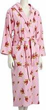 Pip Bademantel - Roses and Dots pink, XS,