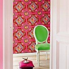 PIP Studio Tapete Bilderwand Singing Roses pink
