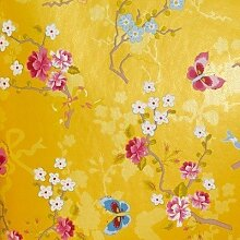 PIP Studio Tapete Chinese Rose gelb
