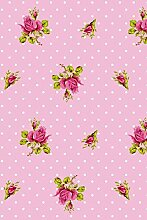 Pip Studio Tapete Roses and Dots rosa 386022
