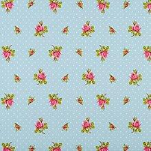 PiP Studio Tapete Roses Punkte-Design, blau, 26.5