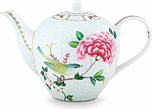 Pip Studio Teekanne Blushing Birds | weiss - 1600