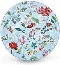 Pip Studio Teller Hummingbirds | Blue - 32 cm