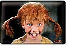 Pippi Langstrumpf Lacht Bleschilder Retro -