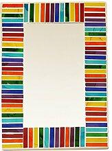 Piquaboo Geometrische Mosaik Wandspiegel 30x