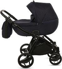 Piquetto Knorr-Baby Kinderwagenset Dunkelblau