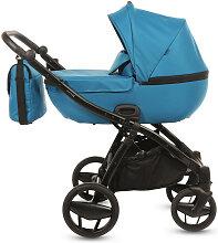 Piquetto Uni Knorr-Baby Kinderwagenset Petrol