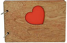 Pirantin Wood Jubiläum Scrapbook Geschenkidee mit