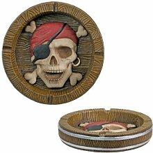 Piraten Aschenbecher Collectible Figur