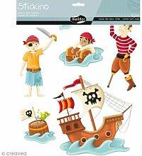 Piraten Stickino Maildor, mehrfarbig