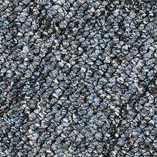 Pireo Schlingen-Teppichboden in der Farbe Blaugrau