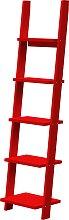 Pisa - Bücherregal - Rot