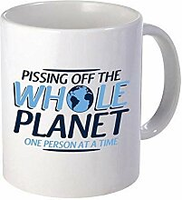 Pissing Off The Whole Planet Gift Idea Unique Gift