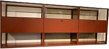 Piure | Raumteiler-Regal Mesh 3-teilig Mattlack