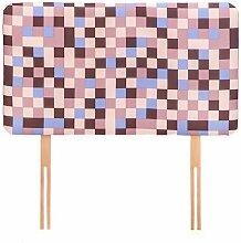 Pixel Druck Kinder Bezogene Schaum Sofa für Einzelbett, erhältlich in 4 Farben - Braun