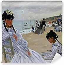 PIXERS Fototapete Claude Monet - Am Strand Von