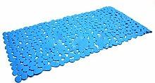 Pixnor Starke Absaugung Anti-SlipBath Mat, 35 x 70cm, blau