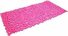 Pixnor Starke Absaugung Anti-SlipBath Mat, 35 x 70cm, rosaro