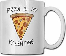 Pizza ist meine Valentine Fashion Coffee Cup