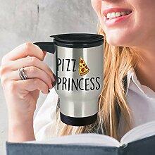 Pizza-Prinzessinnen-Becher, Valentinstag, beste