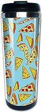 Pizza Zombies Kaffeetassen Edelstahl Wasserflasche