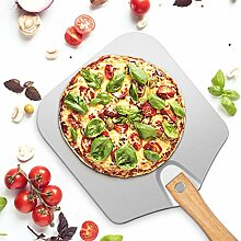 Pizzaschieber aus Aluminium mit klappbarem