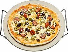 Pizzastein 33cm Backstein Pizza Brot Brötchen