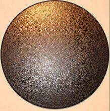 Pizzastein, Heißer Stein, Grillstein aus glasiertem Cordierit 380x10mm