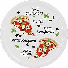 Pizzateller Margherita groß - 30,5cm Porzellan